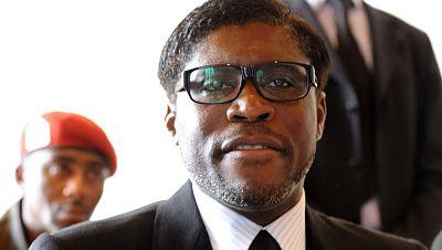 Registro de la mansión parisina del hijo del dictador de Guinea Ecuatorial Teodoro Obiang