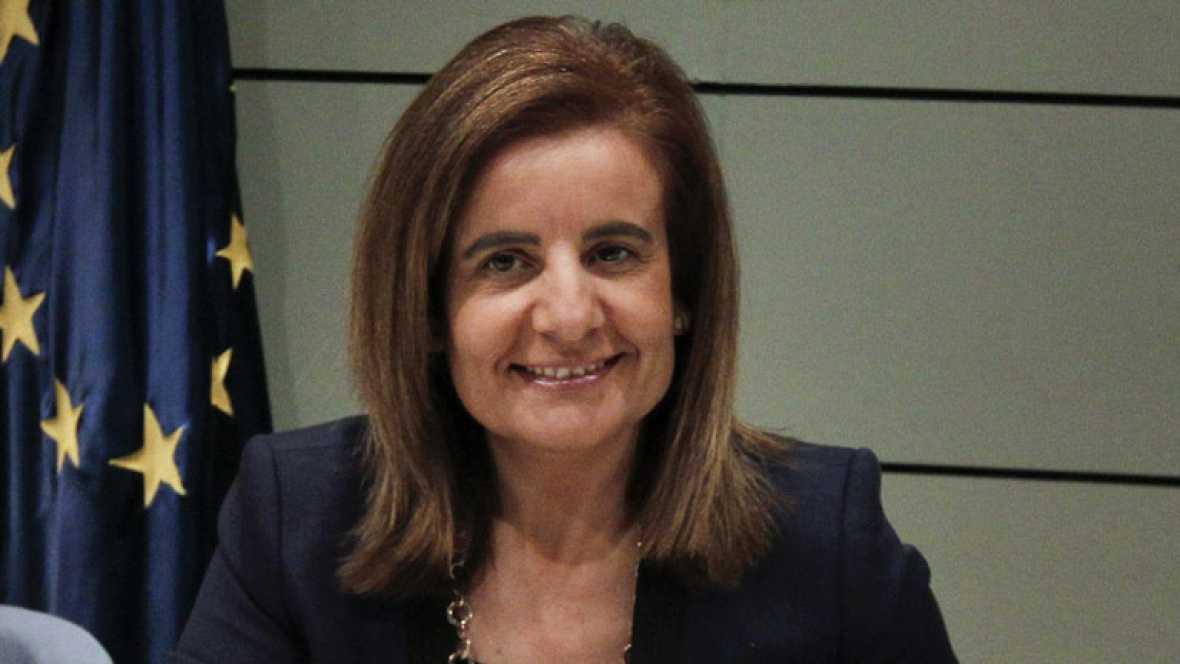 Fátima Bañez ha ofrecido a las CCAA la posibilidad de suscribir convenios para que los parados que cobran prestaciones realicen trabajos sociales