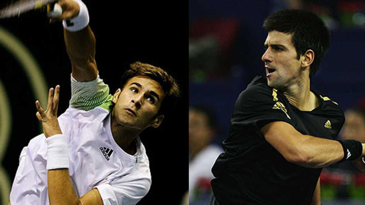 Novak Djokovic y su hermano Marco han tenido suerte desigual en su estreno en el torneo de Dubai. El número uno del mundo ha comenzado ganando, mientras que su hermano ha caído derrotado en su regreso a las pistas.