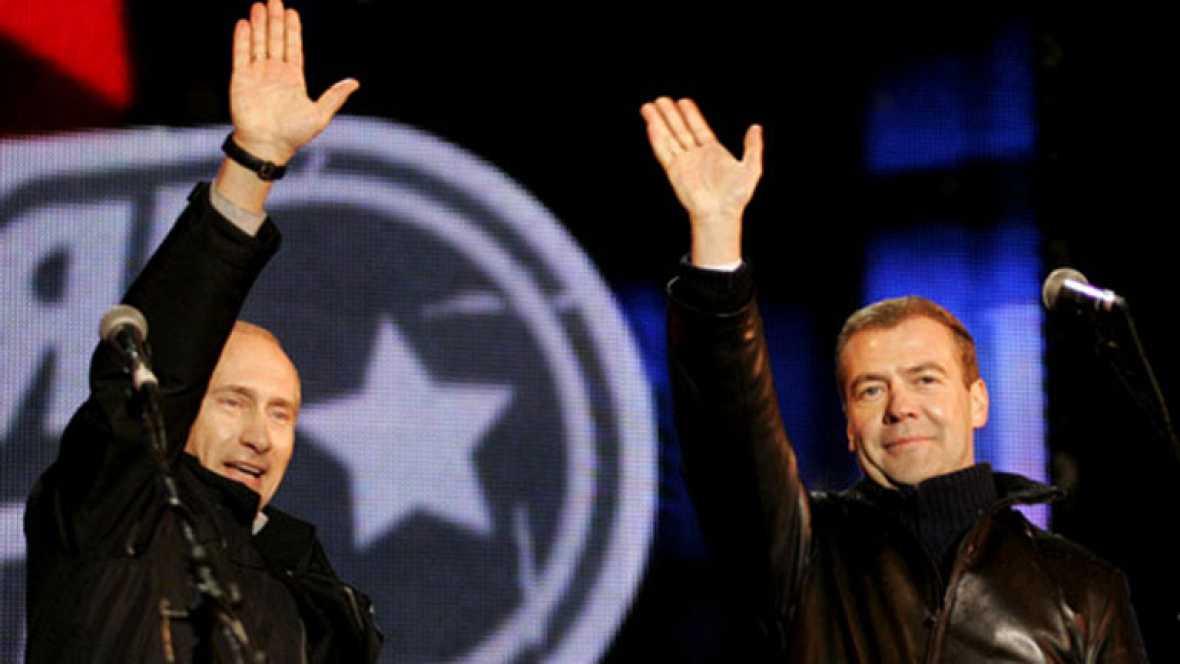 El 2 de marzo de 2008 Dimitri Medvédev fue elegido nuevo presidente de Rusia en sustitución de Vladimir Putin, que no podía optar a la reelección, Medvédev fue designado sucesor por el propio Putin y pertenece al clan de San Petesburgo.
