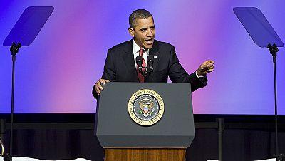 El presidente de Estados Unidos, Barack Obama, confía en lograr la reelección en los comicios de noviembre.