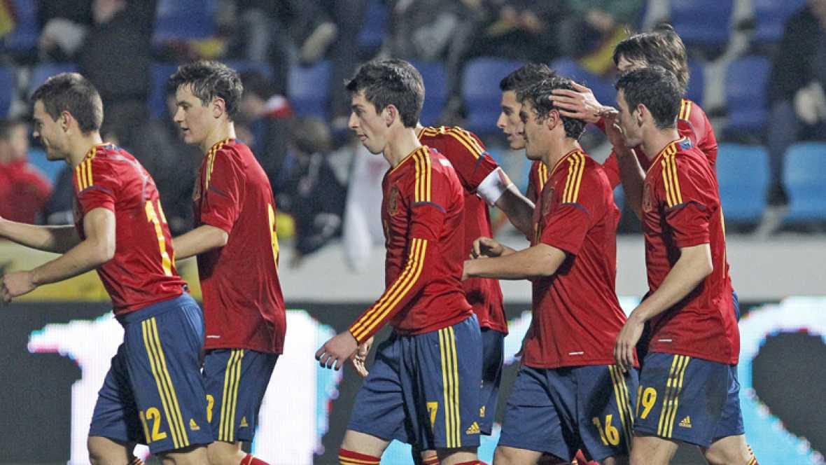 La selección olímpica española de fútbol se ha impuesto frente a Egipto (3-1) en un amistoso que sirvió como preparación para los Juegos Olímpicos de Londres, cita donde estarán ambas selecciones.