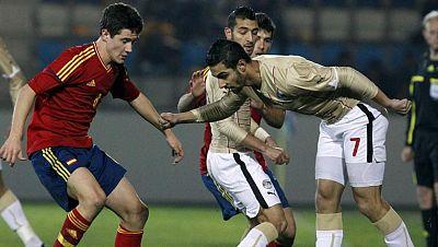 La 'Olímpica' de fútbol gana a Egipto