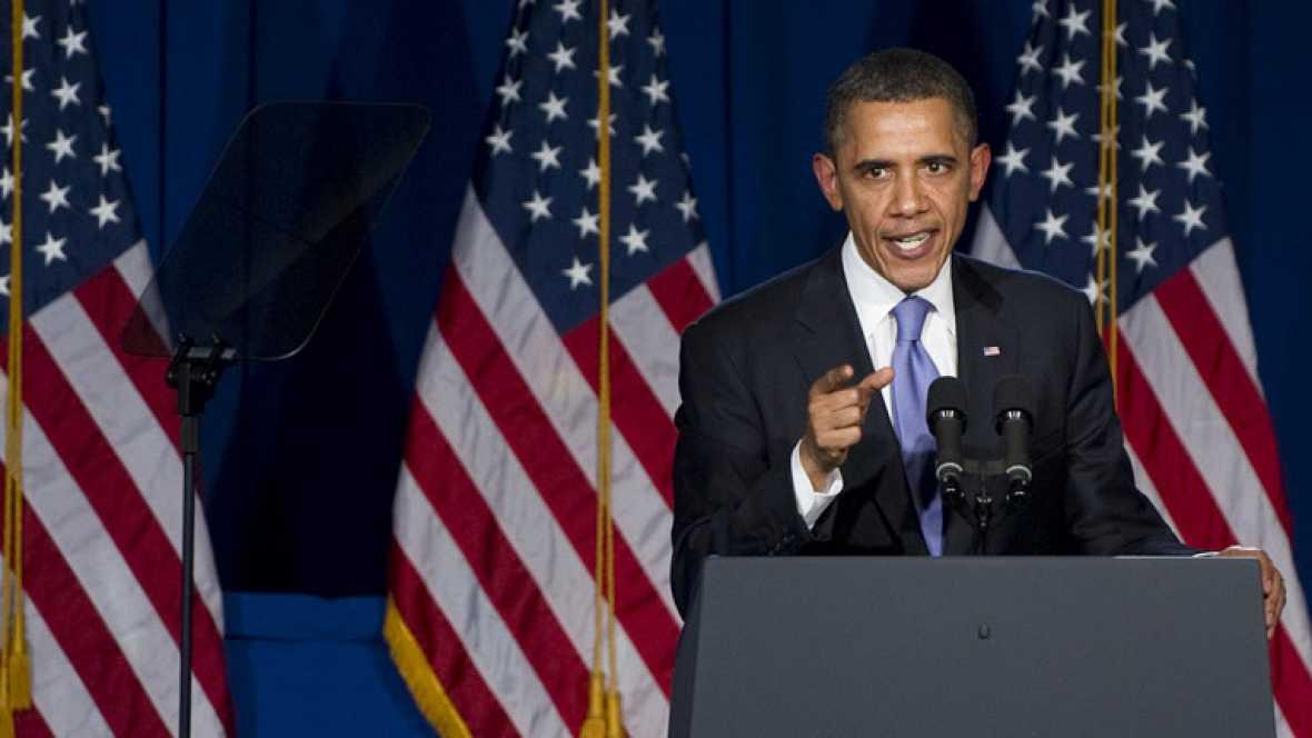 """Barack Obama sobre Irán: """"Nadie ha anunciado una guerra"""""""