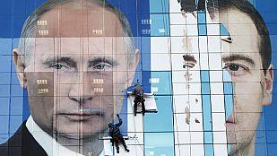 El apoyo en las provincias, clave para Putin