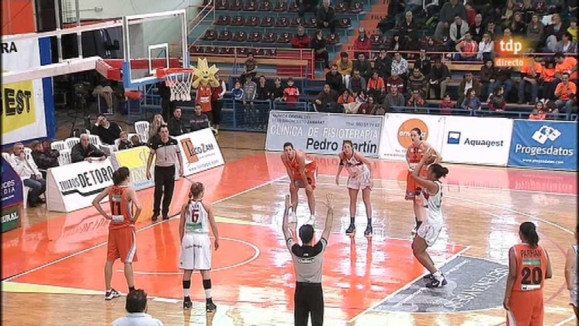 Baloncesto: Liga femenina - Caja Rural Tintos Toro - Jopisa Ciudad de Burgos - 03/03/12 - ver ahora