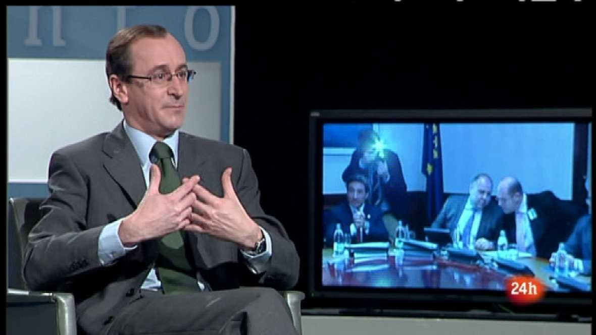 Parlamento - Entrevista a Alfonso Alonso, portavoz del PP en el Congreso  - 03/03/12 - Ver ahora