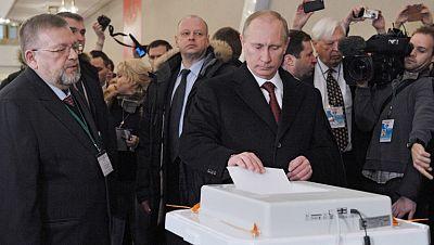 Rusia elige al sucesor de Medvédev en la presidencia del país