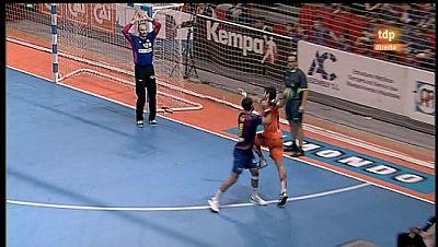 Balonmano - Liga ASOBAL: Caja 3 BM Aragón - FC Barcelona Intersport - 04/03/12 - ver ahora