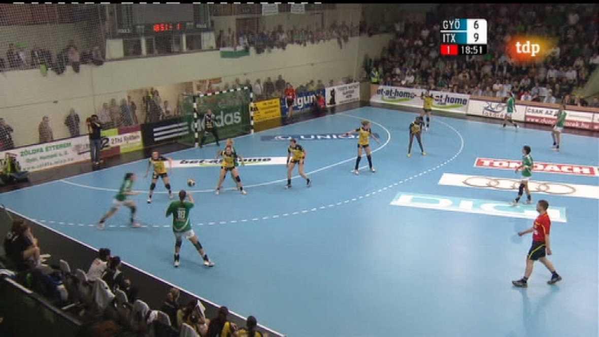 Balonmano - Liga de Campeones Femenina: Gyori Audi Eto KC - Grupo ASFI Itxako Reyno de Navarra - Ver ahora