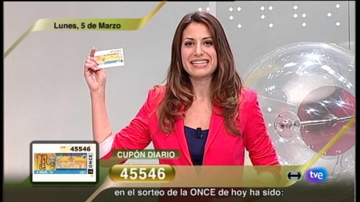 Sorteo ONCE - 05/03/12 - Ver ahora