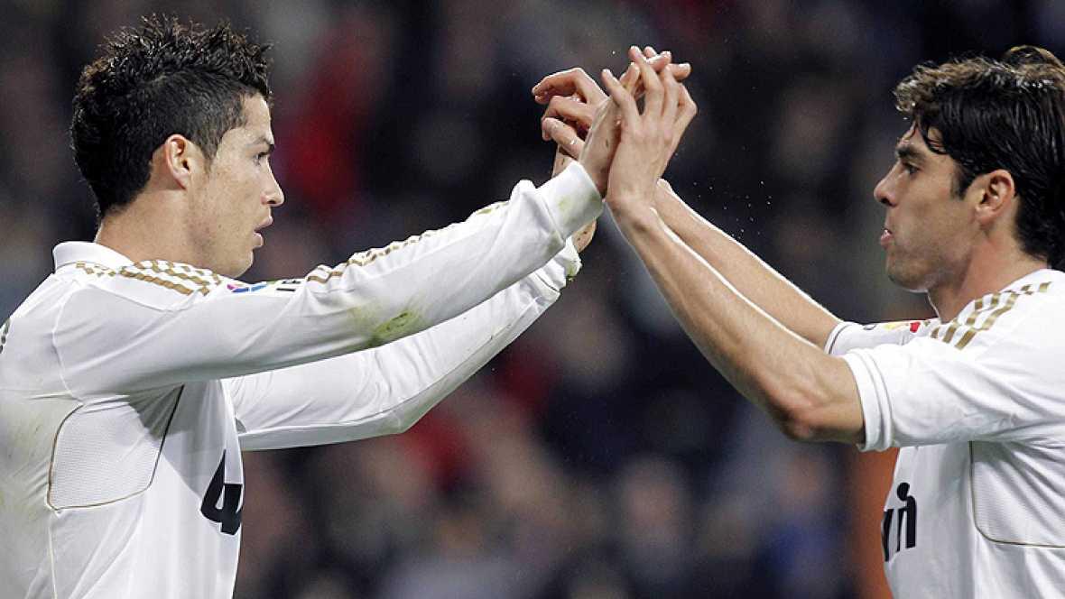 Cristiano Ronaldo, jugador del Real Madrid, podría ser, con los treinta goles que suma a falta de trece partidos para que finalice el campeonato, el máximo anotador en 73 de las 87 ediciones de Liga que se han disputado en España desde la temporada 1