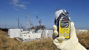 Un equipo de TVE entra en la zona de exclusión de la central nuclear de Fukushima