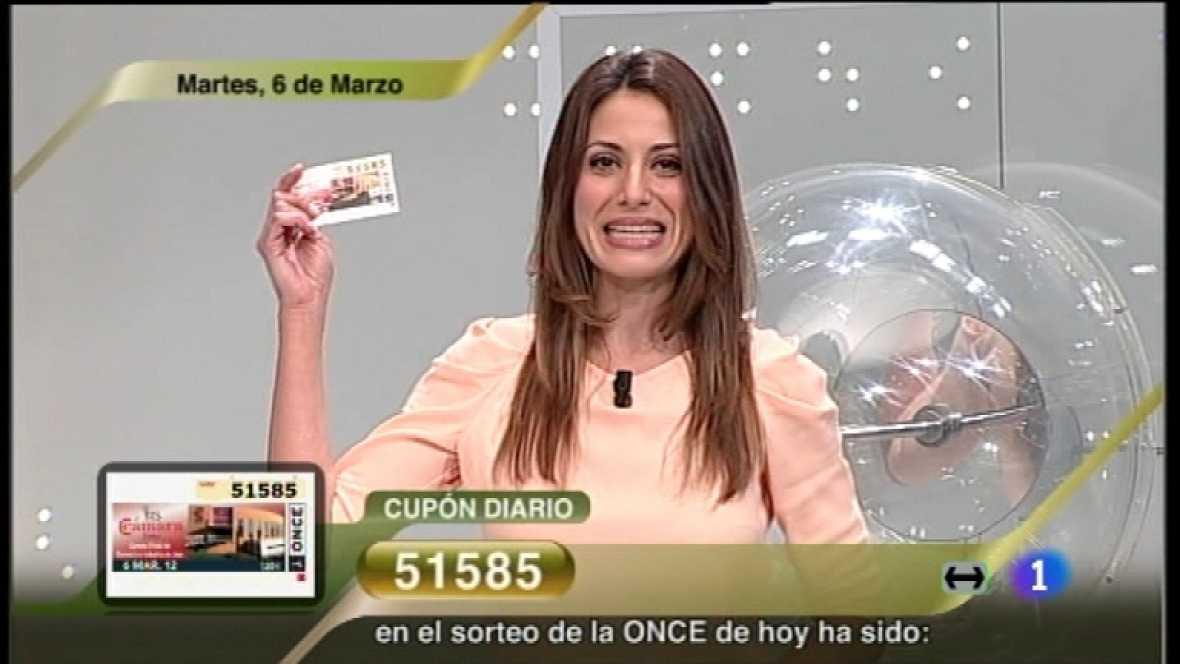 Sorteo ONCE - 06/03/12 - Ver ahora