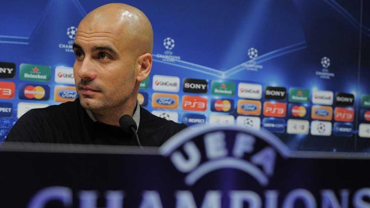 El técnico del FC Barcelona, Josep Guardiola, ha insistido en la idea de que el mejor escenario posible para la final de Copa habría sido el Santiago Bernabéu.