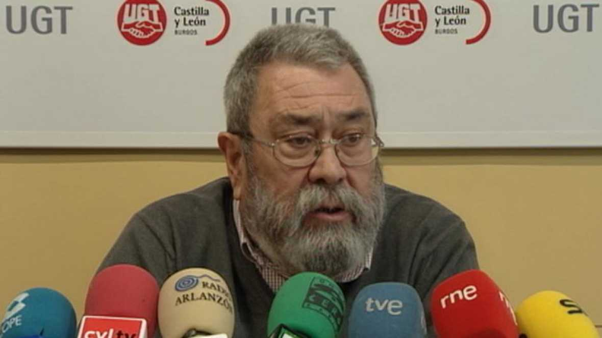 En los actos políticos ha estado la convocatoria de huelga general de Comisiones y UGT