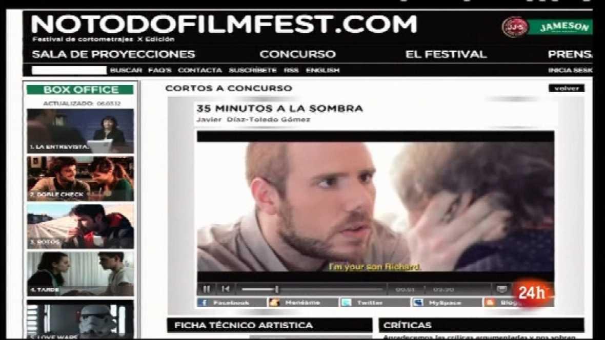 Cámara abierta 2.0 - La X Edición del NotofoFilmFest, Los pueblos deshabitados y Noa en 1minuto.COM - 10/03/12 - Ver ahora