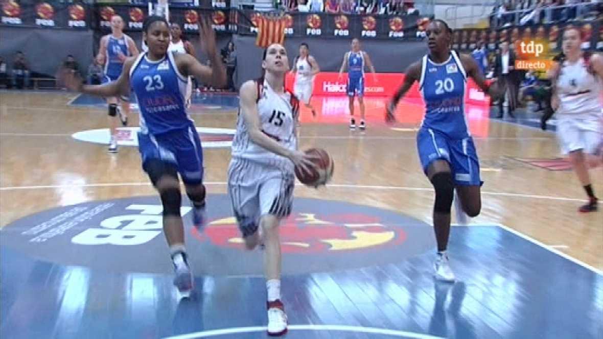 Baloncesto femenino - Copa de la Reina: Rivas Ecópolis-Ciudad Ros Casares - 10/03/12 - ver ahora