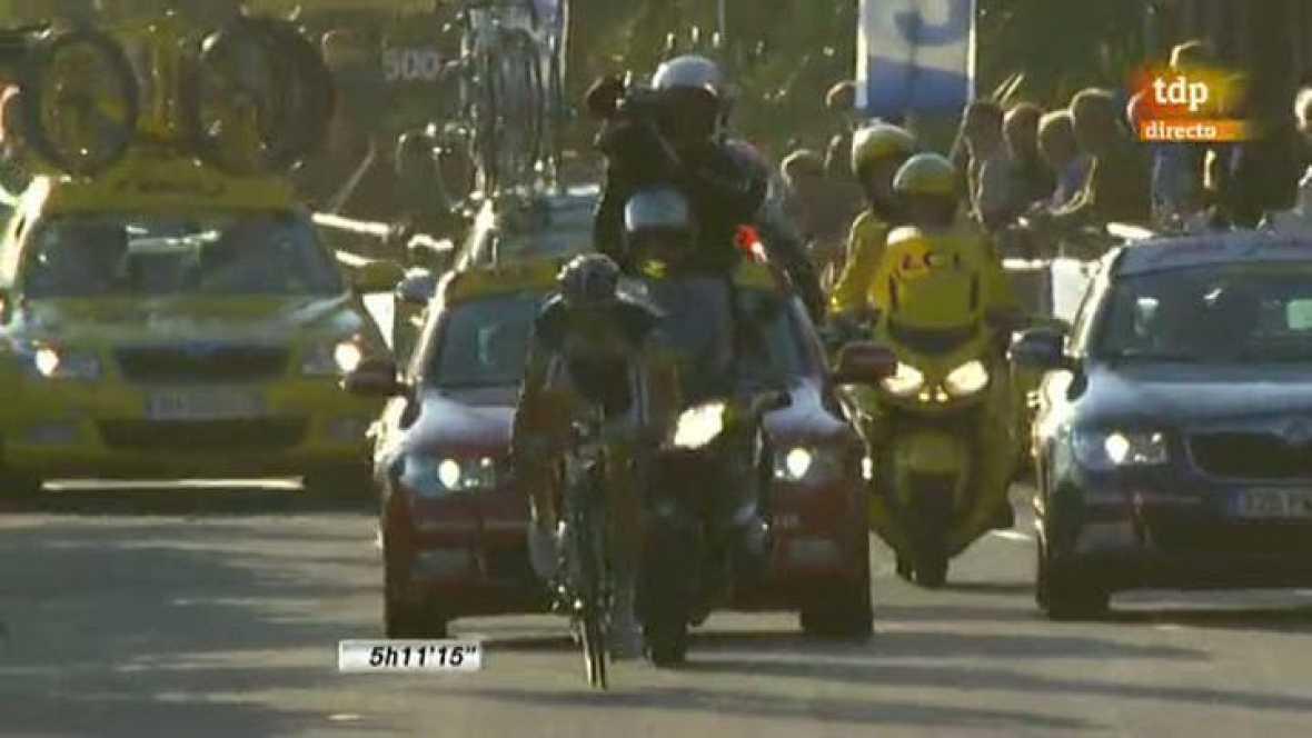 El belga Thomas De Gendt, del Vacansoleil-DCM, se ha adjudicado en solitario la séptima etapa de la París-Niza