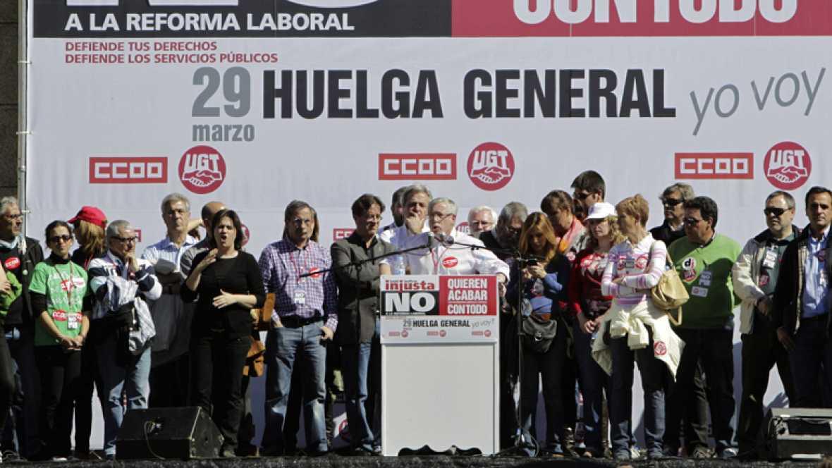 Comisiones y UGT insisten en que el gobierno puede rectificar la reforma laboral