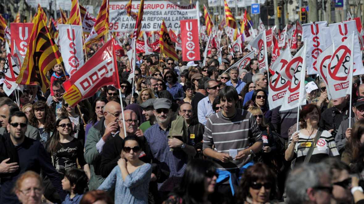 En 60 ciudades de España se ha rechazado la poítica económica del gobierno