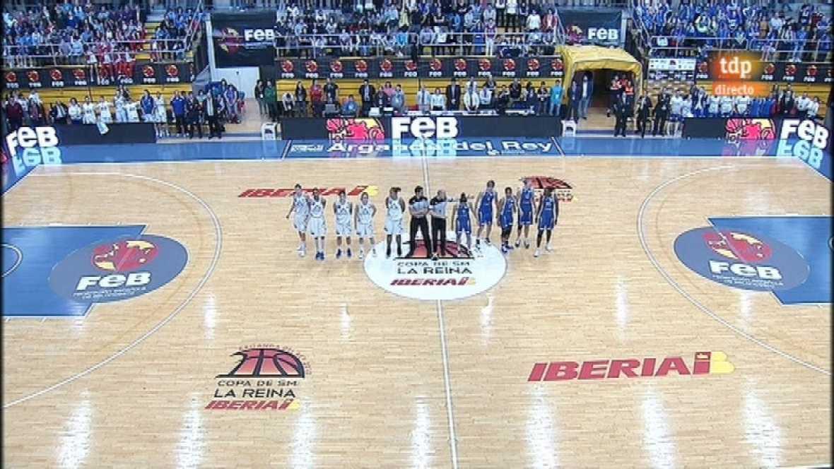 Baloncesto femenino - Final de la Copa de la Reina: Ciudad Ros Casares-Perfumerías Avenida - 11/03/12 - ver ahora