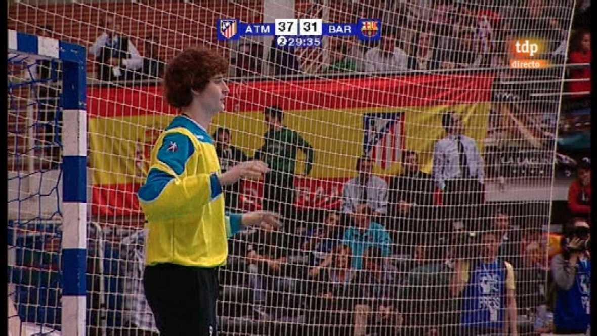 Balonmano: Copa del Rey - Final: Atlético de Madrid-FC Barcelona Interspor -10/03/12 - Ver ahora