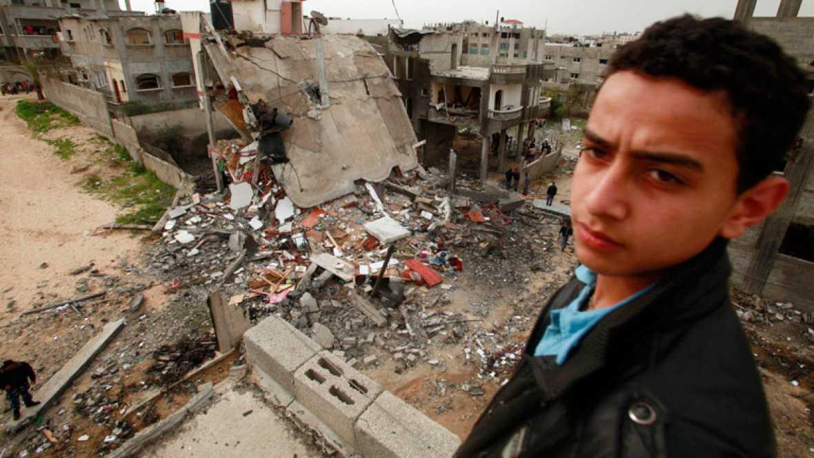Mueren tres palestinos en nuevos bombardeos israelíes sobre Gaza