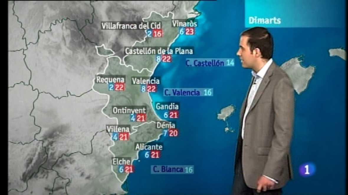 El tiempo en la Comunidad Valenciana - 12/03/12  - Ver ahora
