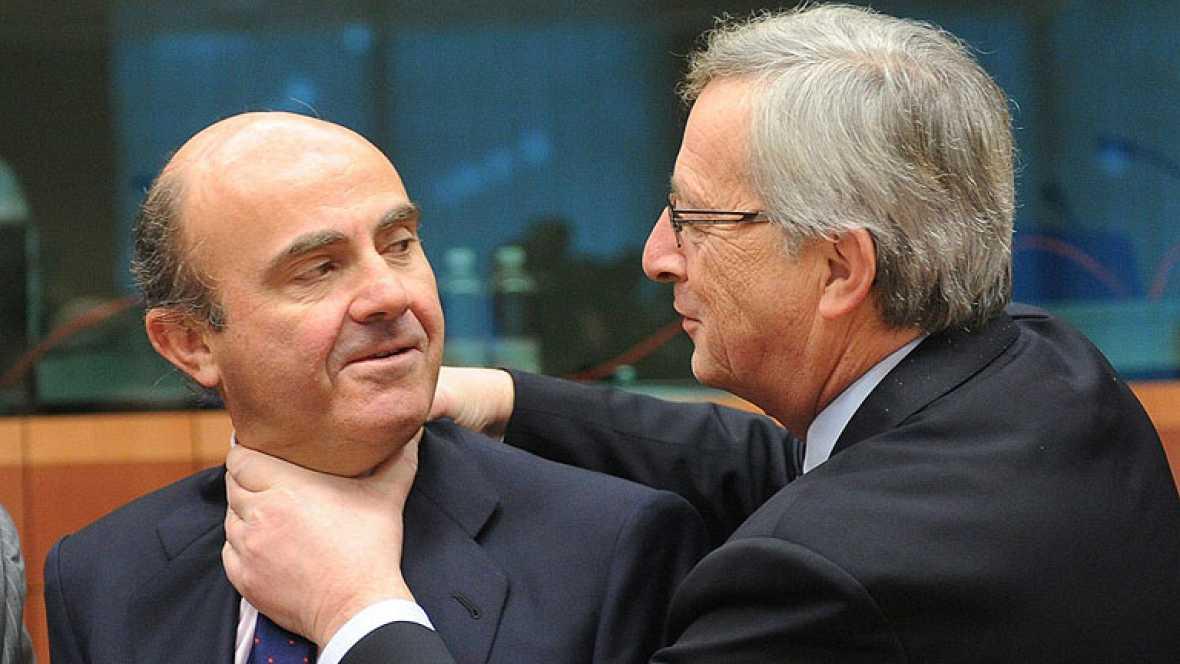 Reunión de los ministros de economía de la zona euro para analizar el déficit español