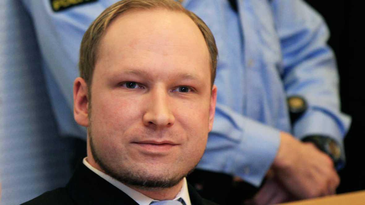 La TV noruega hace públicos los audios de la detención de Breivik