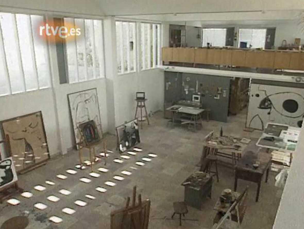 Miró: 'Jardiner d'espais'