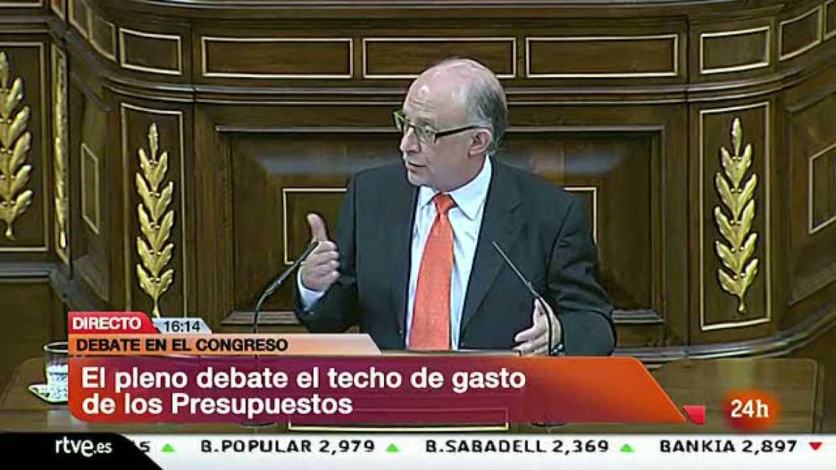 Montoro asegura que el Estado asumirá el 0,5% adicional de reducción del déficit fijado por Bruselas