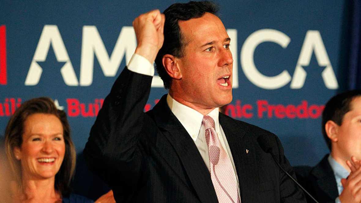 Santorum gana en Alabama y Misisipí