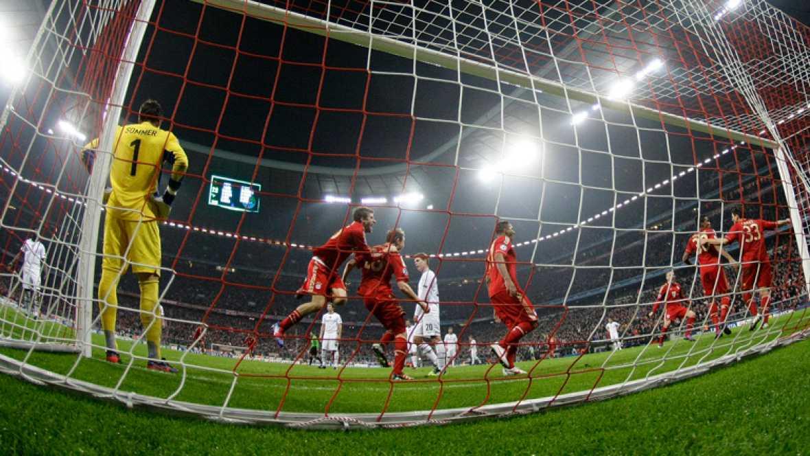 El Bayern de Múnich ha conseguido su pase a los cuartos de final de la Champions tras golear al Basilea (7-0)