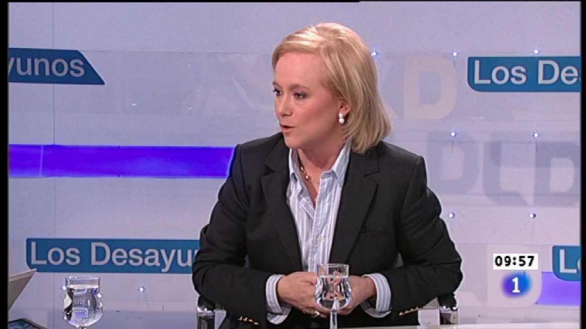 Los desayunos de TVE - Mercedes Fernández, candidata del PP a la Presidencia del Principado de Asturias - Ver ahora
