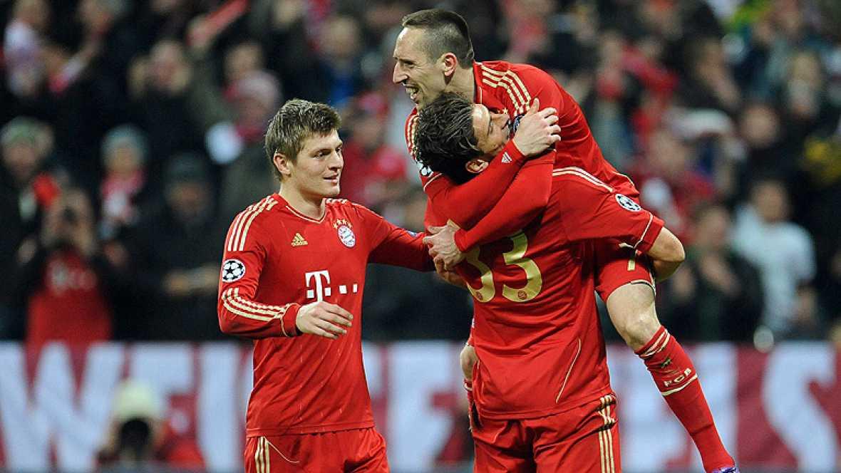 El Basilea apenas opuso resistencia ante un Bayern que se hizo respetar desde el primer minuto.