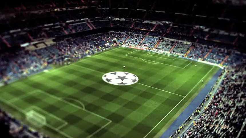 Una noche de Champions en el Bernabéu como nunca la has visto