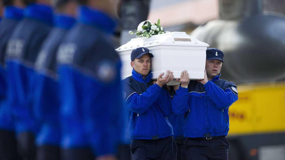 Los cuerpos de los fallecidos ya están en Bélgica
