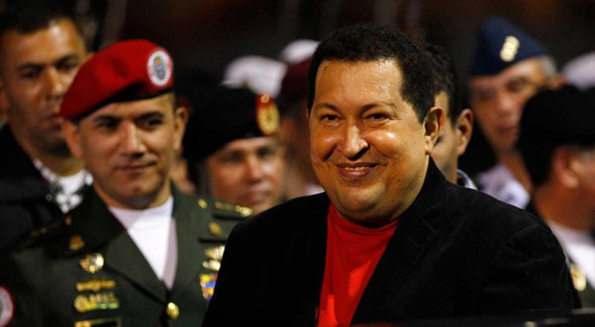 Hugo Chávez regresa a Caracas el 16 de marzo de 2012 tras su segunda operación de cáncer