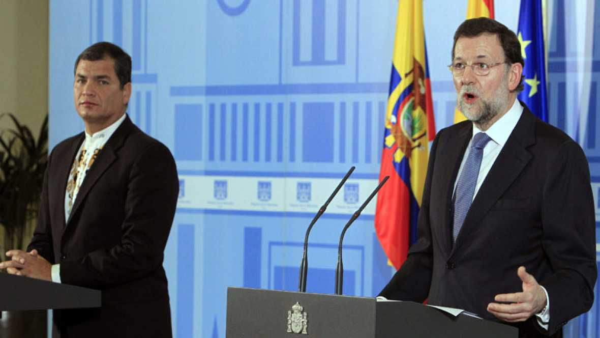 Rajoy asegura que no se plantea el copago sanitario y no es partidario de la medida