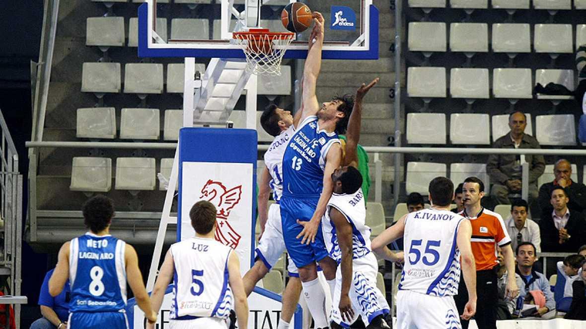 El Lucentum Alicante cerró su racha negativa logrando un importante triunfo ante el Lagun Aro GBC (79-68), al que adelanta en la clasificación tras superar el basket average.