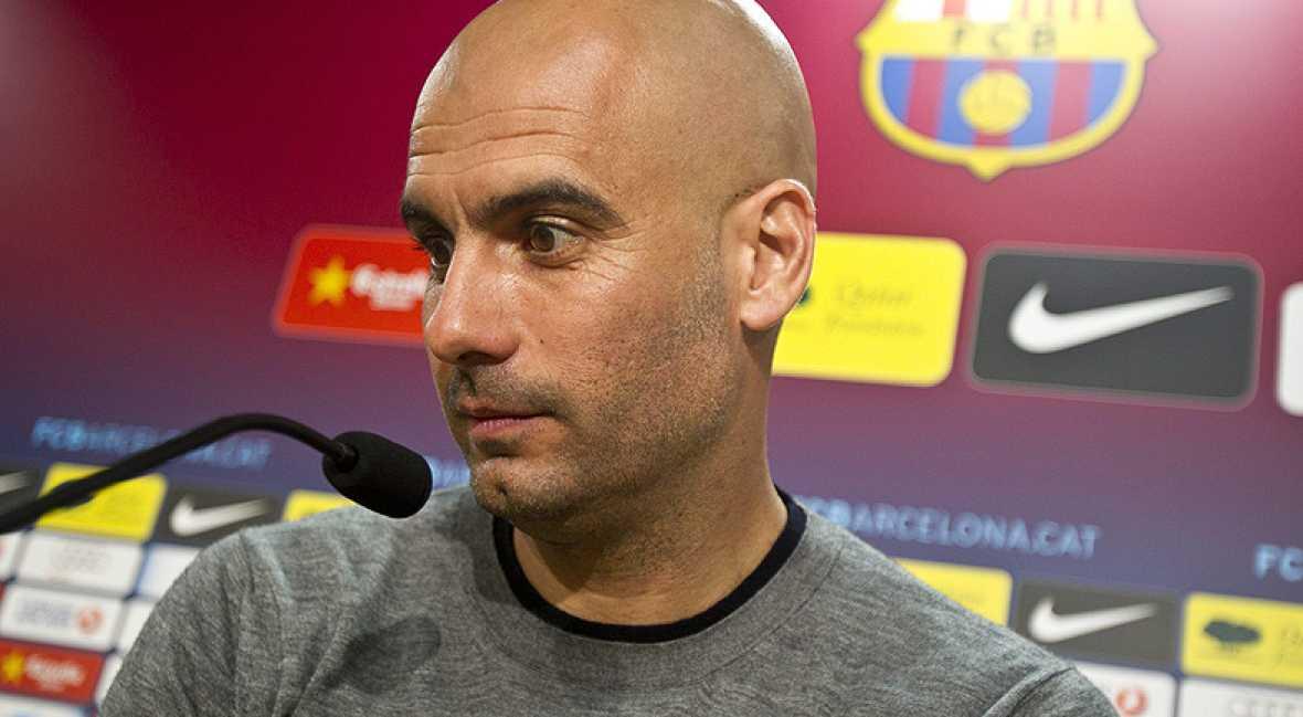 """Guardiola: """"La Liga sigue siendo imposible"""""""