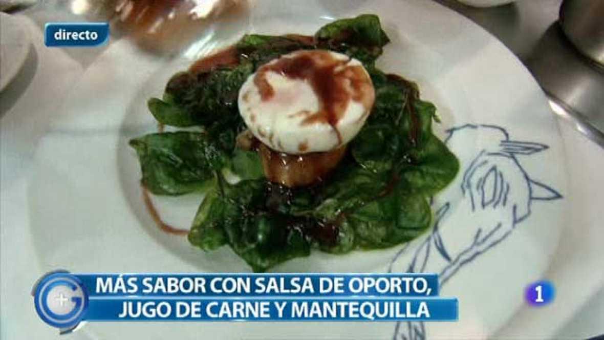 Más Gente - Más Cocina - Huevo escalfado con foie