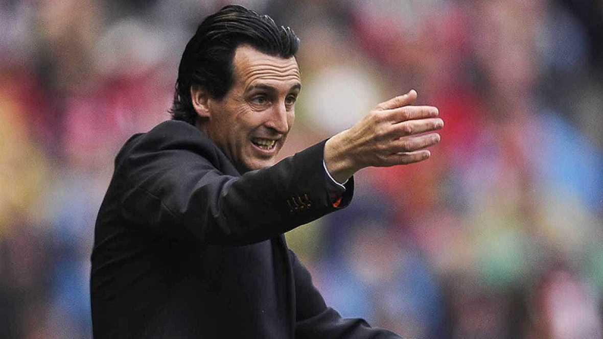 """El entrenador del Valencia, Unai Emery, ha admitido hoy que puede haber llegado al final de un ciclo y que no se ha planteado aún la renovación con el club en el que completa su cuarta temporada. """"Puede ser"""", respondió Emery en rueda de prensa a la p"""