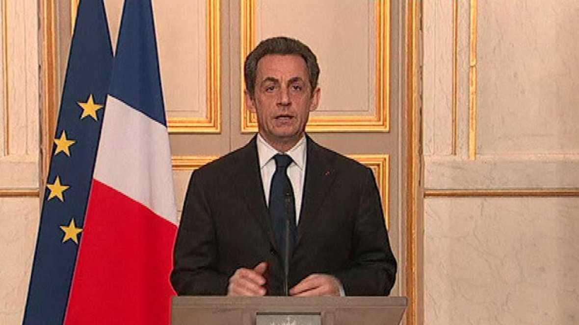 Nicolás Sarkozy habla de la operación en marcha en Toulouse