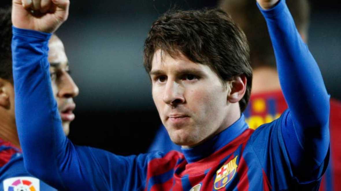 234 goles de Messi con el Barça