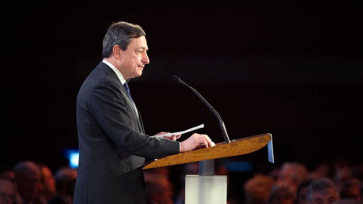 El BCE ve mejoríe en la zona euro