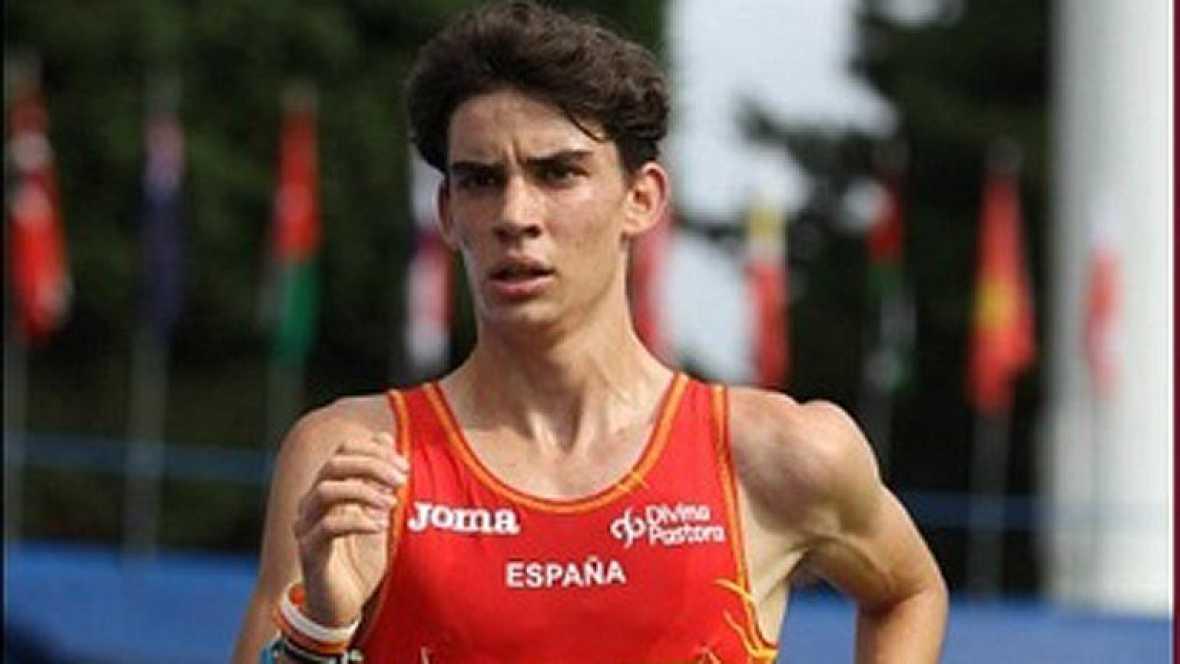 Álvaro Martín, con 17 años, consigue la mínima olímpica en 20 km marcha sin proponérselo