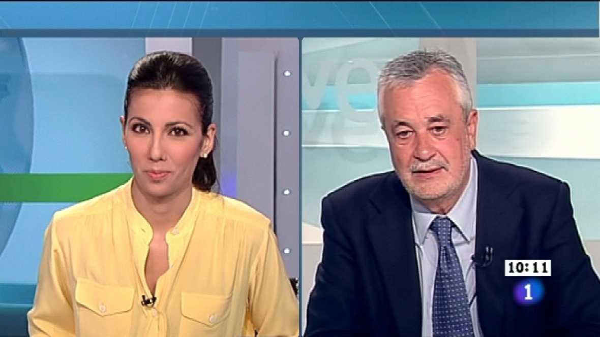 Los desayunos de TVE - José Antonio Griñán, candidato del PSOE a la Presidencia de la Junta de Andalucía - Ver ahora